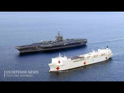 On USNS Mercy board - The biggest Naval Hospital Ship in the world by US