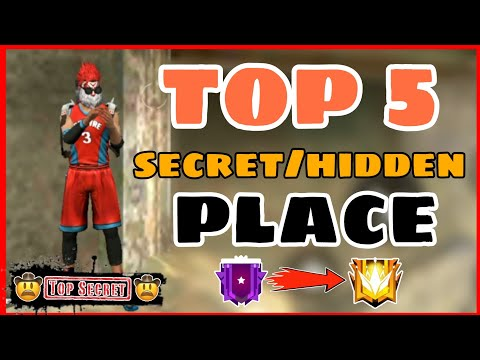 Free Fire Fresh || Top 5 Hidden/Secret Place || Fresh Secret Place Free Fire -4G Gamers