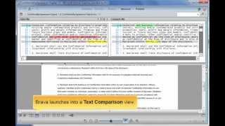 Comparing Documents in Brava for EMC Documentum