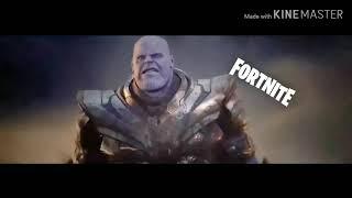 Fortnite VS Minecraft the final battle -Endgame