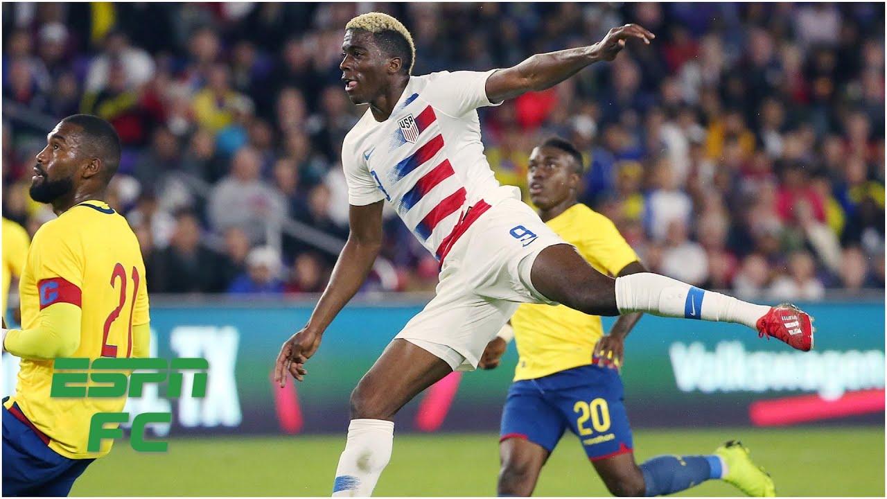 Weird Gyasi Zardes goal gives U.S. a 1-0 win   USMNT vs. Ecuador   International Friendly