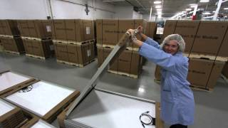 Repeat youtube video 15. Canadian Solar photovoltaic manufacturing - We go inside the plant