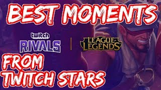 Best Moments from Twitch Rivals | Yassuo GOD | Tyler1 is Back | Twitch Streamers React on each other