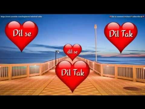😘😍Dil Se Dil Tak| Whatsapp Video Status||