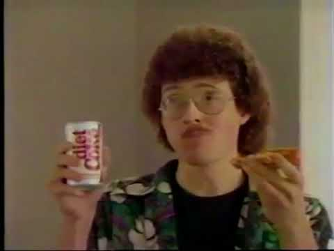 Diet Coke Ad with Weird Al and Ghostbusters (1985) (better quality)