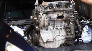 Honda Accord V6 3.0L Engine Swap Removal J30A4 (2003 - 2007)