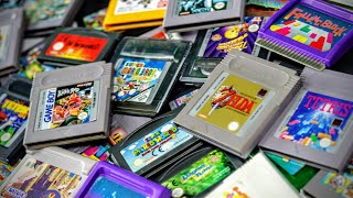 My Retro Handheld Games Collection | The Retro Future