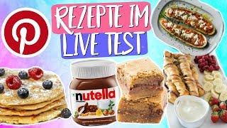 YUMMY 😋 ...oder etwa nicht? Was können Pinterest Rezepte wirklich? Nutella Brownies & Mehr!