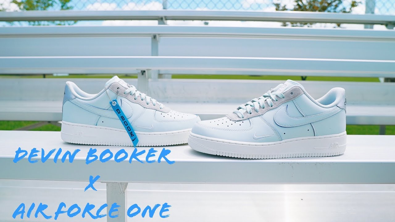 First Look : Devin Booker X Air force 1