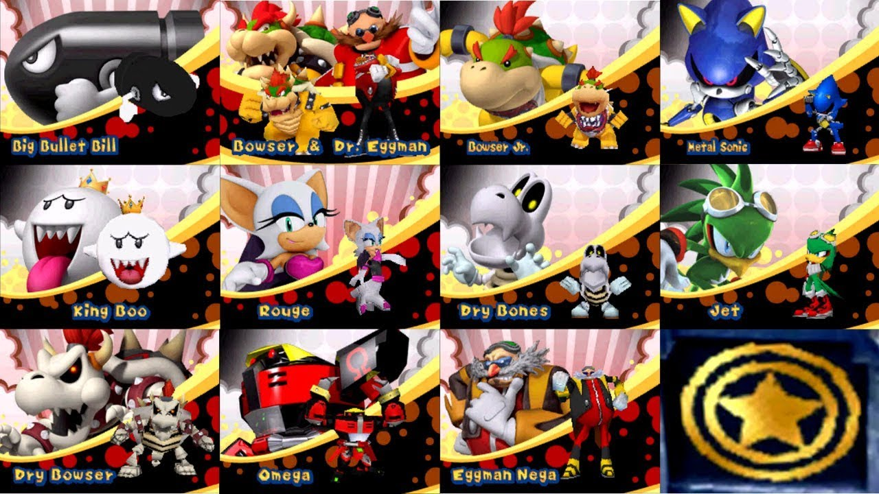 mario and sonic at