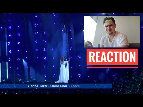 Yianna Terzi – Oniro Mou – First Rehearsal – Greece. Реакция!