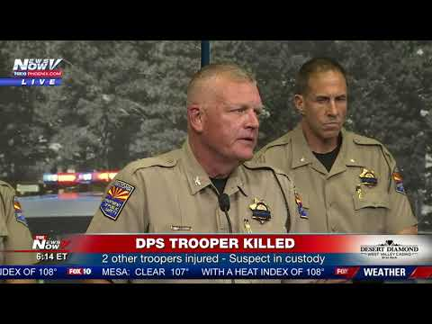 UPDATE: Arizona Trooper Killed In The Line Of Duty