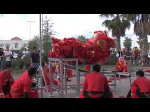 Mua Lan (Lion Dance) at Kim Son 02/01/2009