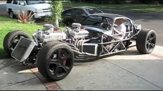 V16 Hot Rod ( first drive)