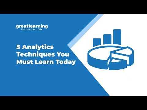 5 Analytics Techniques You Must Learn Today | Cluster Analysis | Regression Analysis -Great Learning