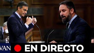 DIRECTO: Debate y votación de la moción de censura de Vox contra Sánchez en el Congreso