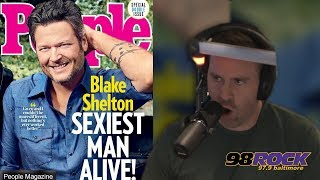 Blake Shelton is People's Sexiest Man Alive