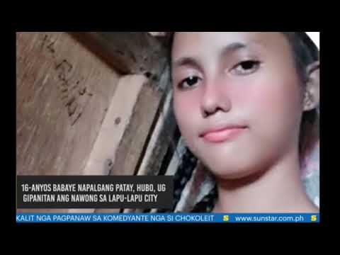 16-years-old raped, skinned in Lapu-lapu Cebu