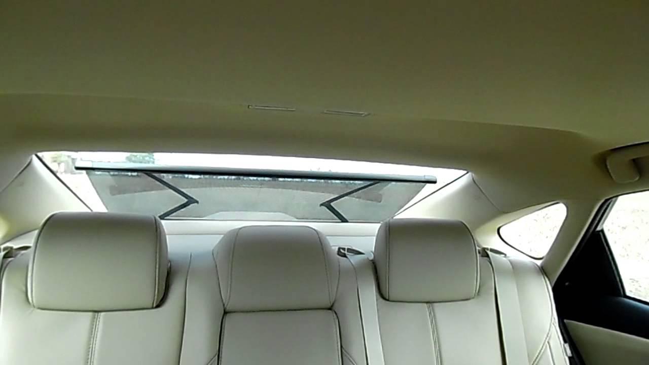 Lake Charles Toyota 2015 Avalon Rear Sun Shade Youtube
