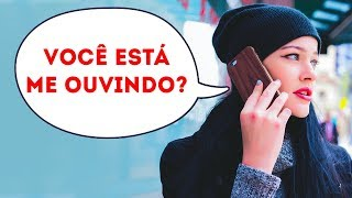 SE OUVIR ESSAS PALAVRAS NO TELEFONE, DESLIGUE NA HORA