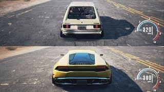 NFS Payback - Golf GTI vs Lamborghini Huracán
