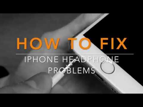 iPhone headphone jack problem fix