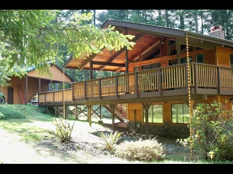 "OUTSIDE of ""SONGBIRD HOUSE"" Hoodsport,Wa. Lake Cushman Area"