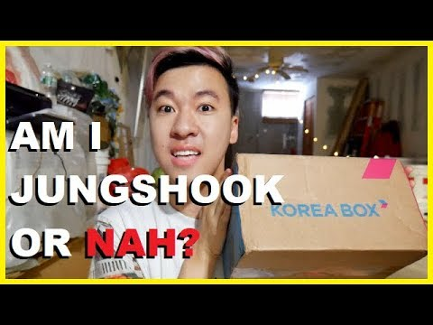 GETTING BTS JUNGKOOK MYSTERY BOX & BTS MERCH GIVEAWAY 2018 [KOREA BOX  UNBOXING]