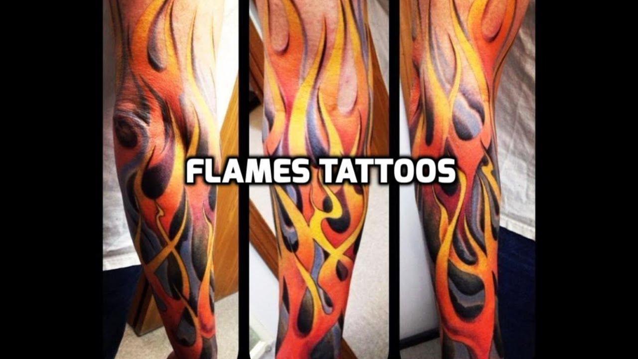 Flames Tattoos Best Flame Tattoo Designs Ideas Hd Youtube
