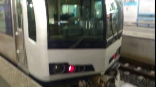 高松駅で停車中の2便目の岡山行きマリンライナーの最後尾