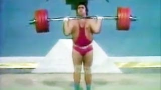 Vasily Alekseyev - Clean and Jerk 534.5 lb / Василий Алексеев толчок 242,5 кг