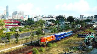 2018.05.29 高雄機廠通勤列車7214次通過(高雄站 - 左營站)