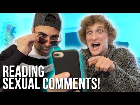 Thumbnail: READING YOUR INAPPROPRIATE COMMENTS! (**sexual alert**)