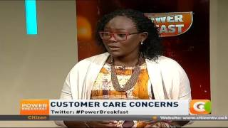 Power Breakfast: Customer care concerns