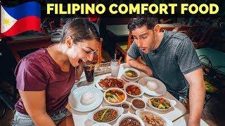 FILIPINO COMFORT FOOD IN MANILA - Dinuguan, Kare Kare and Le...