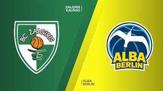 Zalgiris Kaunas - ALBA Berlin Highlights | Turkish Airlines EuroLeague, RS Round 21