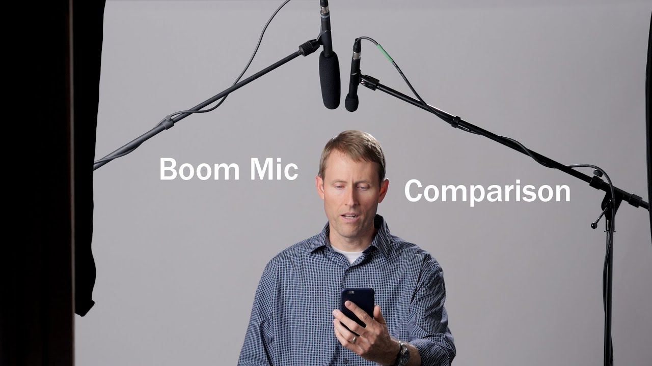 Dialogue Boom Mic Blind Comparison For Sit Down Interviews