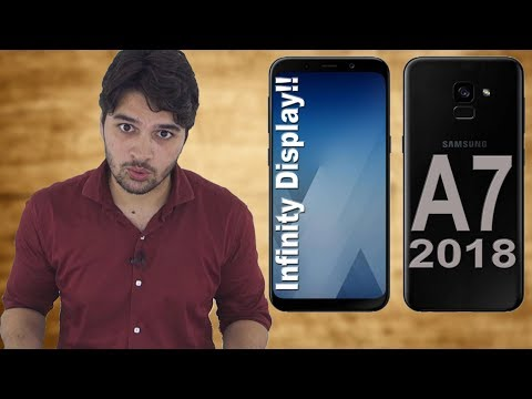 Samsung Galaxy A7 2018 First Look !! #Leaks [Hindi]