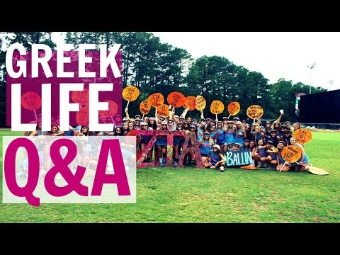 GREEK LIFE Q&A: ALL ABOUT GREEK LIFE