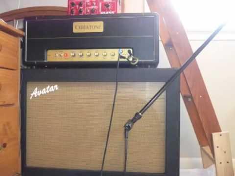 ceriatone plexi 50 lead and bass soundcheck