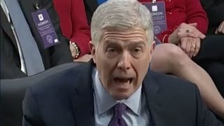 Neil Gorsuch: TRUMP'S ATTACKS ON JUDGES ARE