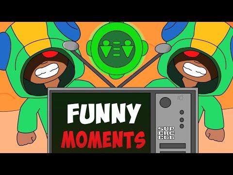 Brawl Stars Animation - Leon & Funny Moments (Parody)