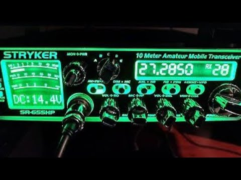 Stryker 655HP. Good radio tuning vs bad radio tuning. Does your cb shop know what they are doing??