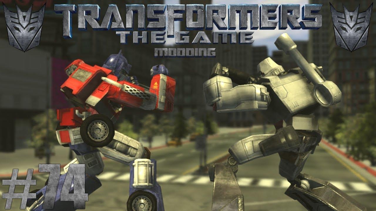 G1 OPTIMUS VS G1 MEGATRON | Transformers: The Game Modding #74