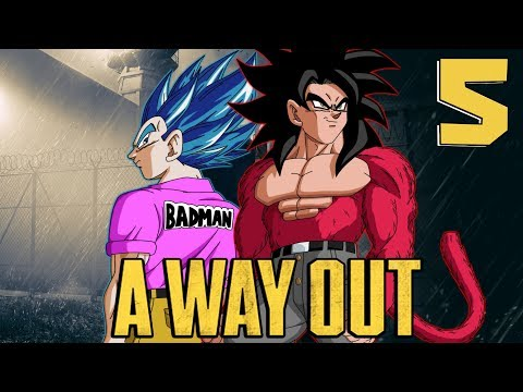 """""""ROCK THE BOAT"""" Vegeta And Slick Goku Play A Way Out - Part 5"""