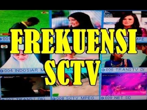 frekuensi SCTV 2017 TV Parabola