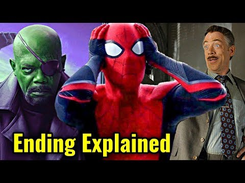 Spiderman Far From Home Ending Explain In HINDI | Spiderman Far From Home Post Credits Explain HINDI