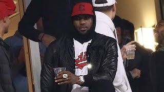 LeBron James & His Massive Championship Ring Bring Bad Luck To Indians