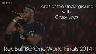 Lords of The Underground with Crazy Legs // Redbull BC One World Finals // .stance
