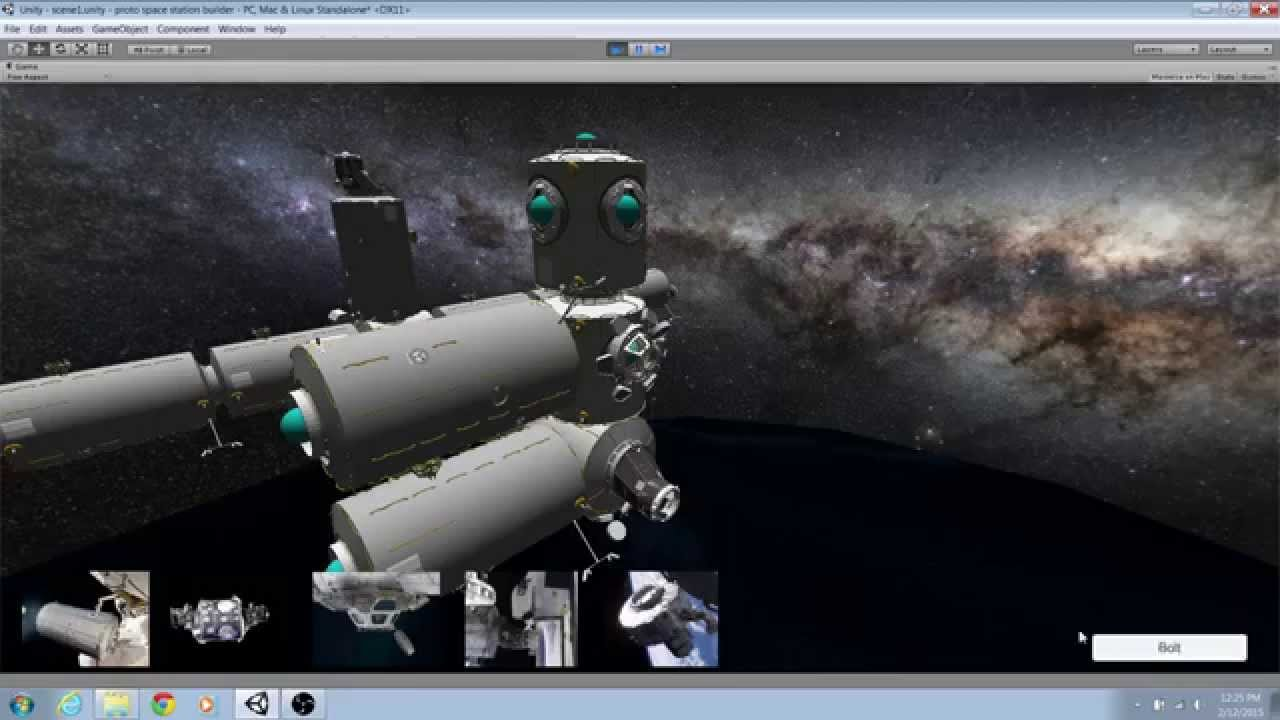 Build In Space Games